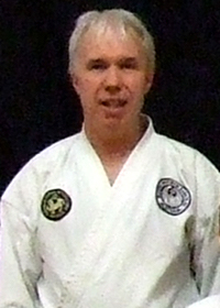 Sensei Mark Reddish